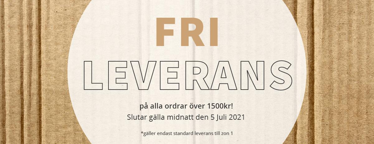 Fri Leverans - Förlängt till Midnatt 05/07/2021